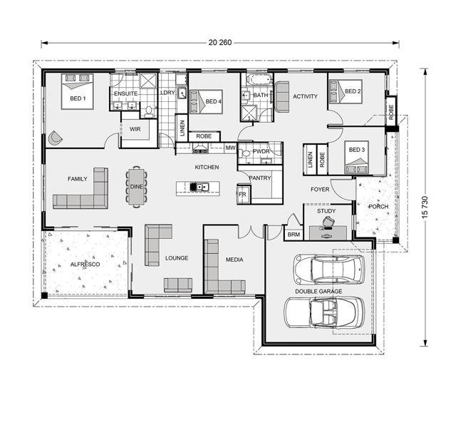 Iluka 276 Floorplan