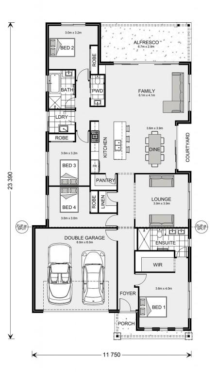 Banksia 245 Floorplan