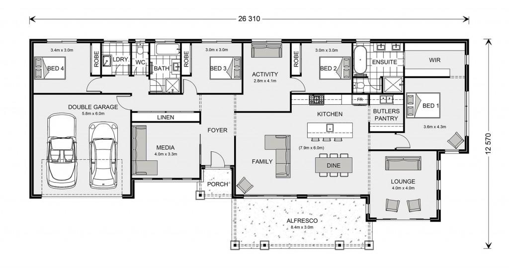 Palm Cove 275 Floorplan