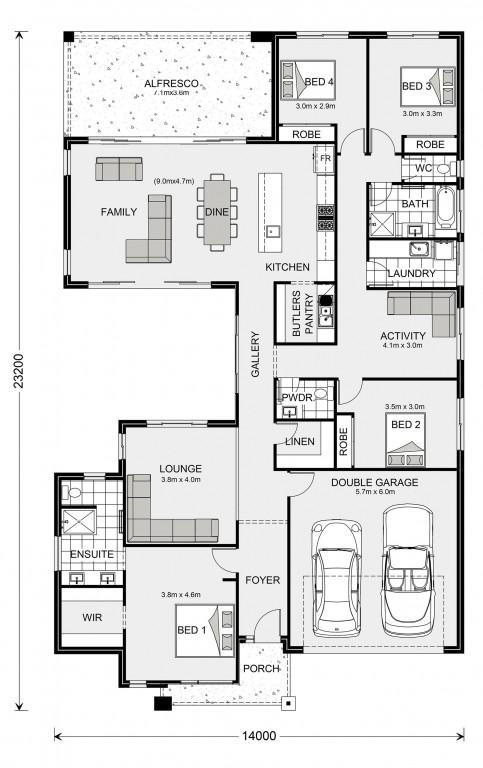 Beachmere 272 Floorplan