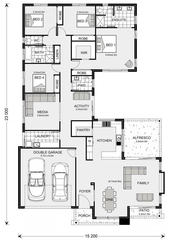 Lakeview 272 Floorplan