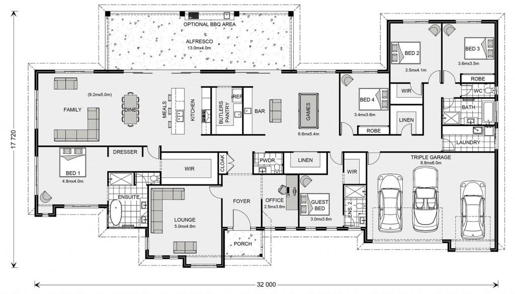 Wentworth 455 Floorplan