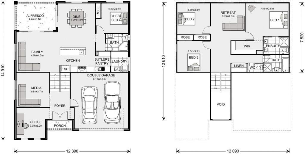 Laguna 278 Floorplan