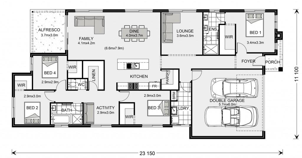 Portland 224 Floorplan