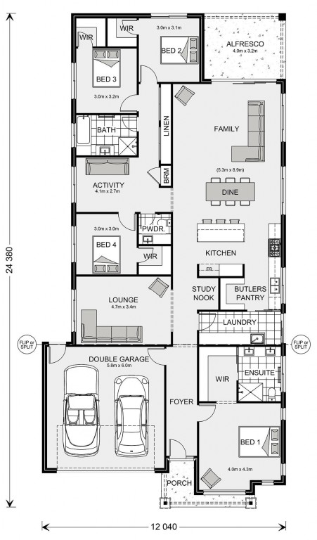 Fairhaven 258 Floorplan