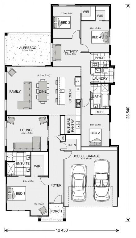 Long Bay 252 Floorplan