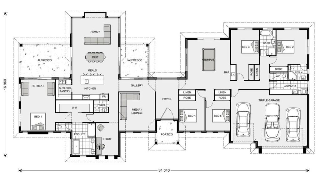 Rivervale 417 Floorplan