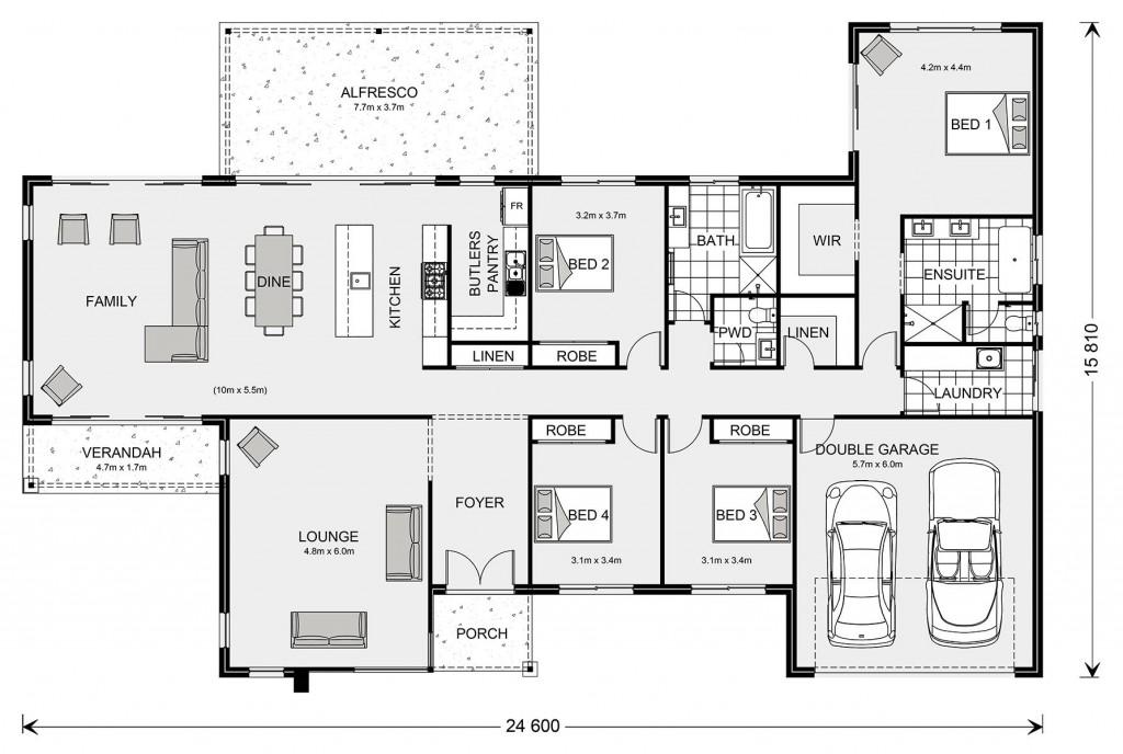 Chadwick 310 Floorplan