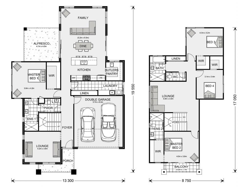 Monteray Bay 305 Floorplan