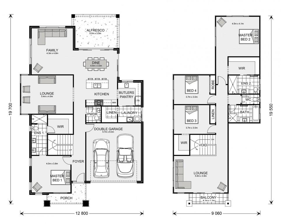 Sacramento 320 Floorplan