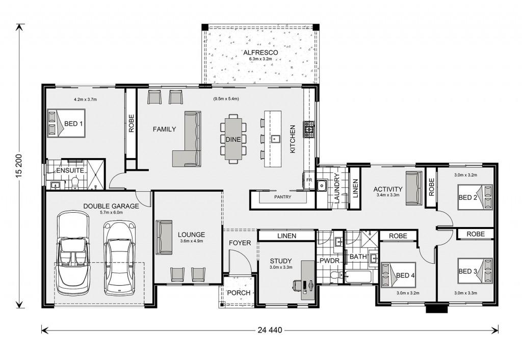 Calamvale 265 Floorplan