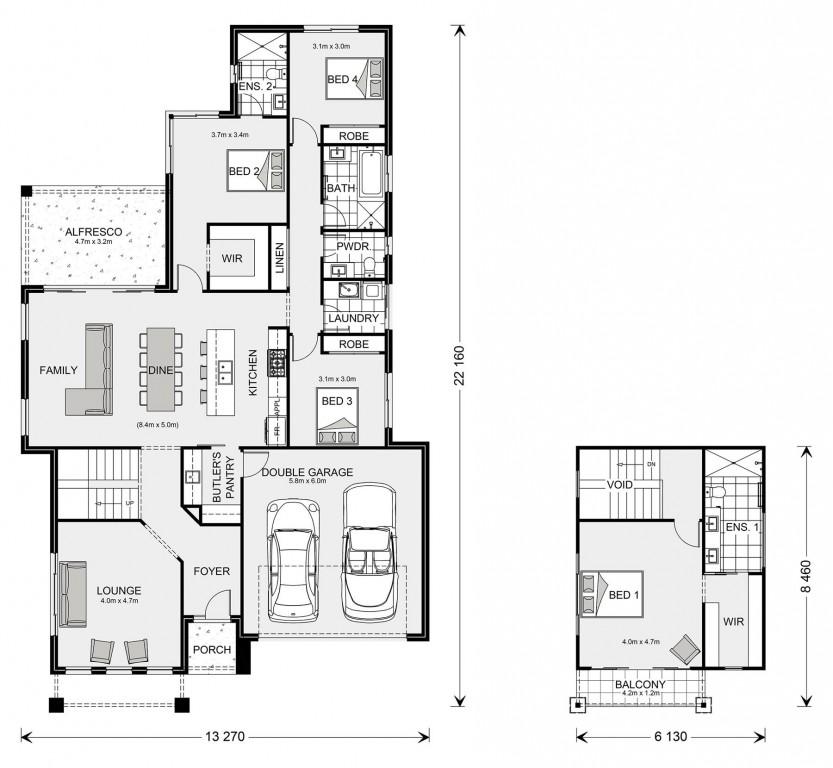 Fremantle 270 Floorplan