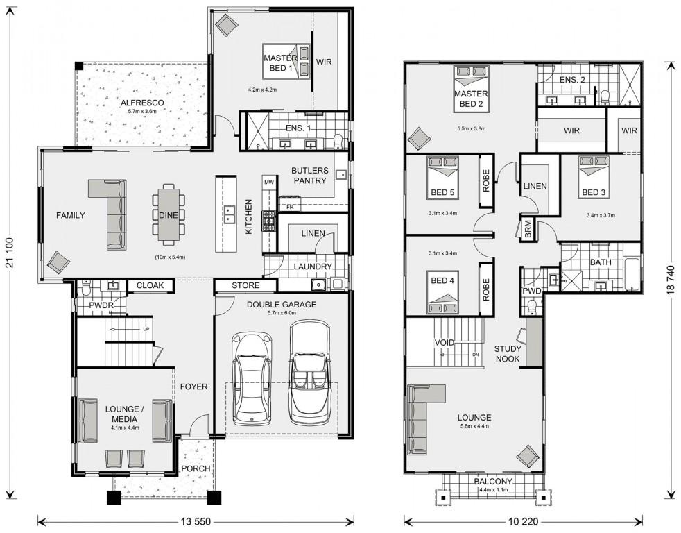 Ventura 385 Floorplan
