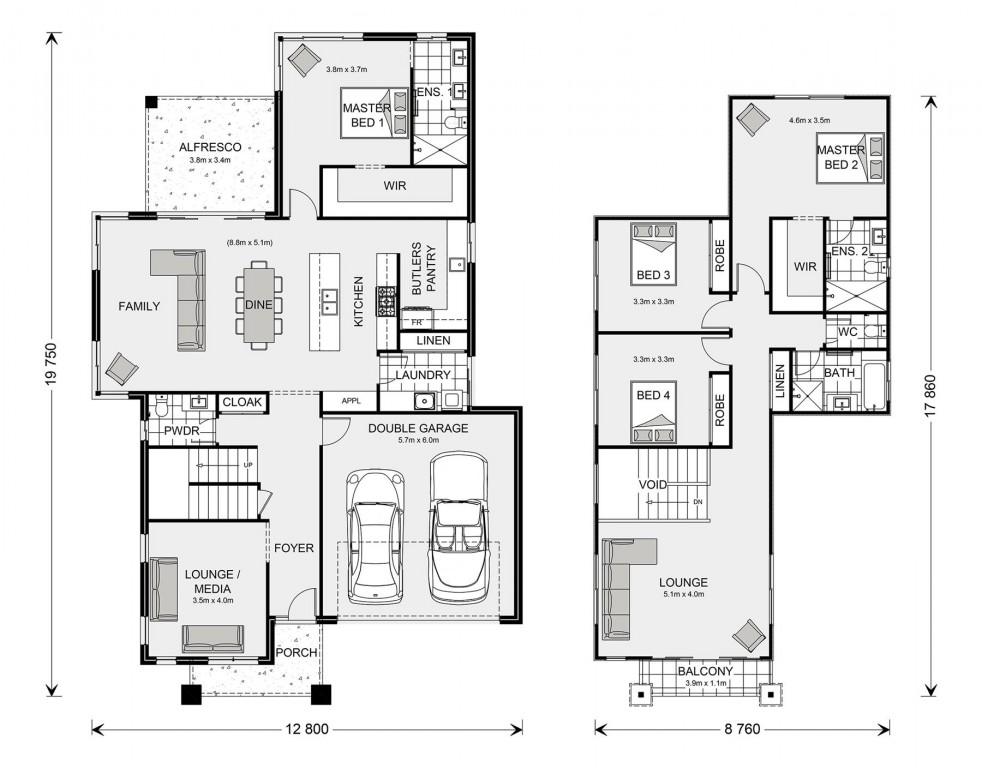 Ventura 305 Floorplan