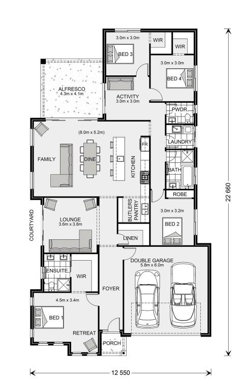 Long Bay 245 Floorplan