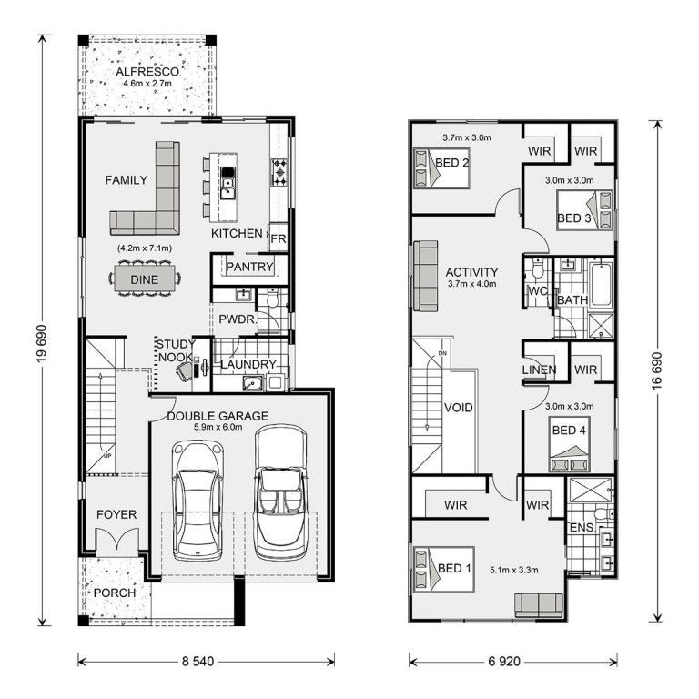 Ascot 250 Floorplan