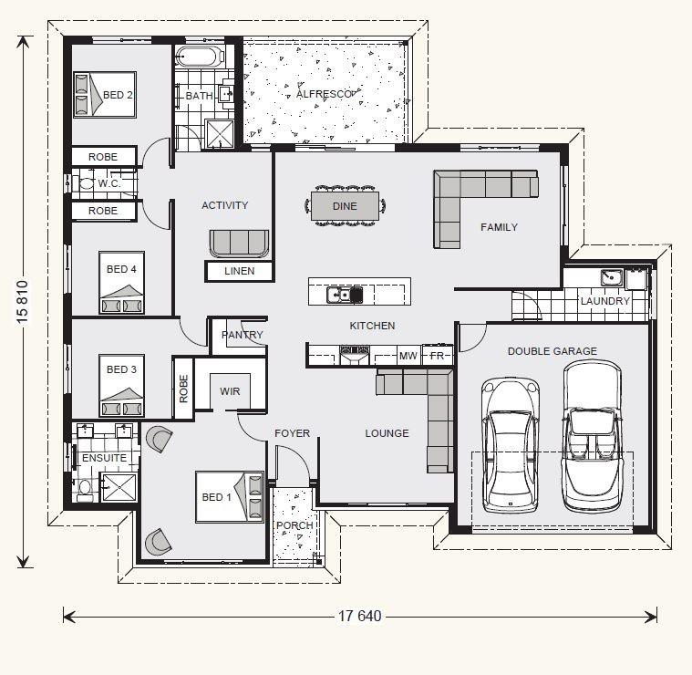 Wide Bay 232 Floorplan