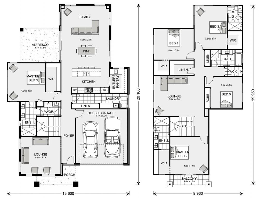 Monteray Bay 365 Floorplan