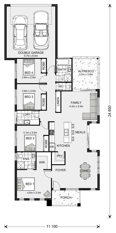 Oceanside 210 Floorplan