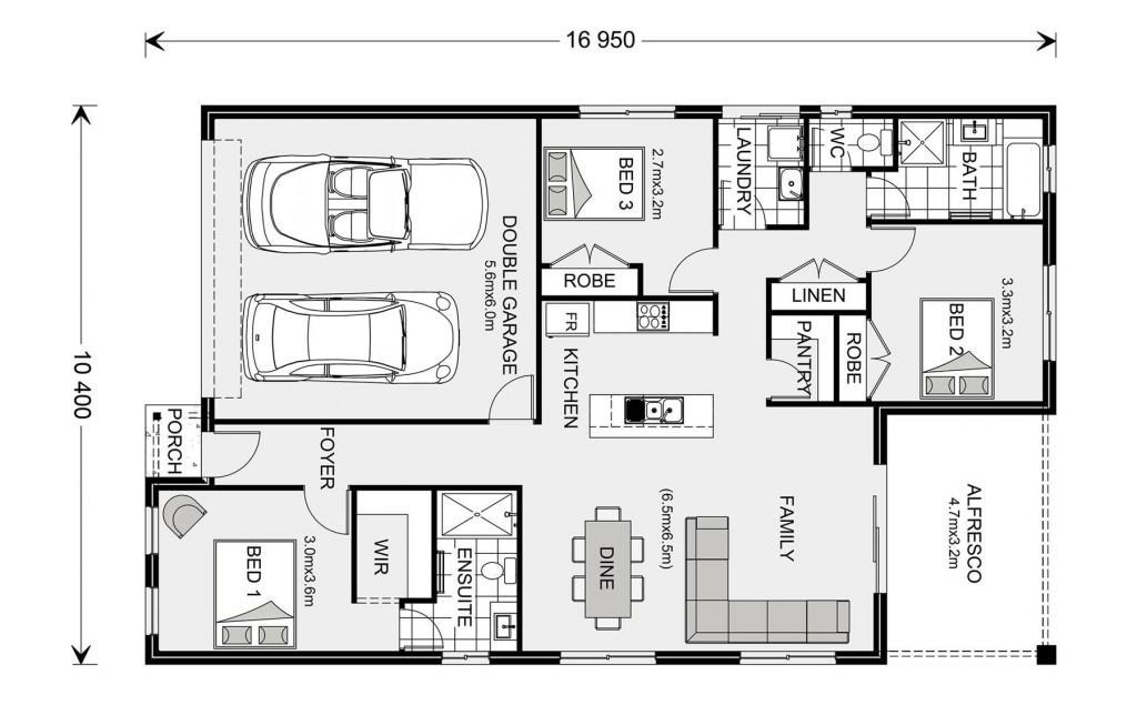 Nova 170 Floorplan