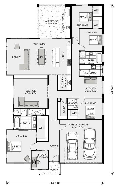 Long Bay 301 Floorplan