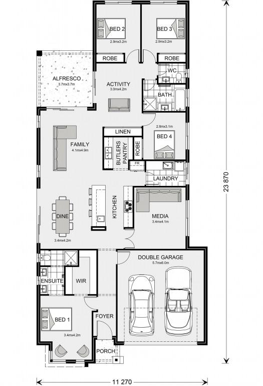 Benowa 230 Floorplan