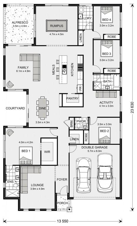 Sunbury 300 Floorplan