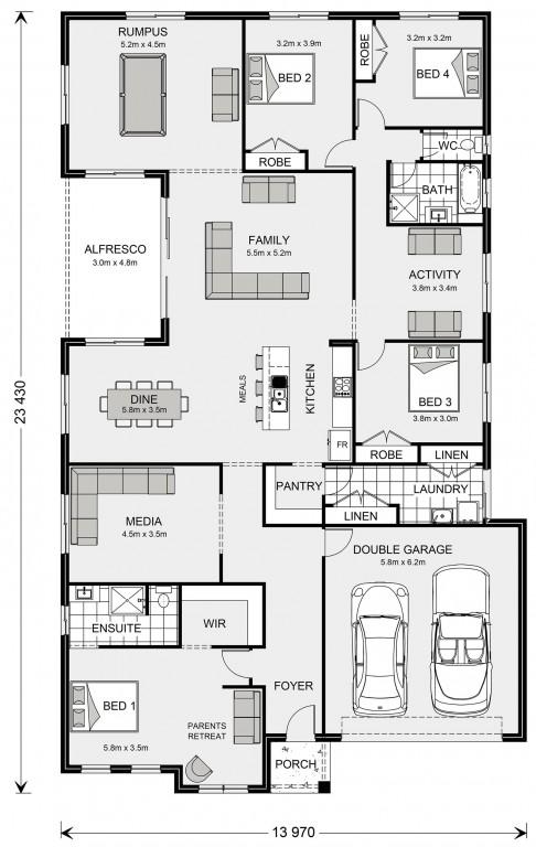 Springbrook 300 Floorplan