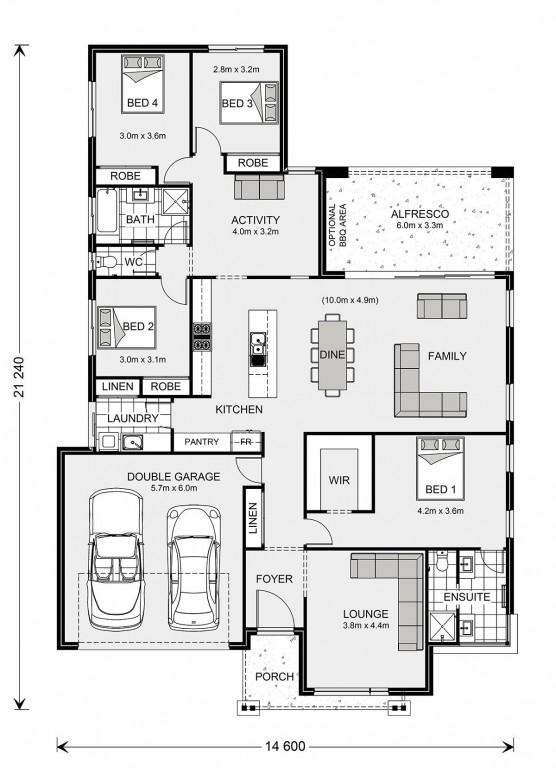 Vista 252 Floorplan