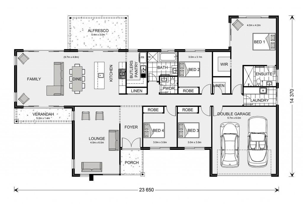 Chadwick 260 Floorplan