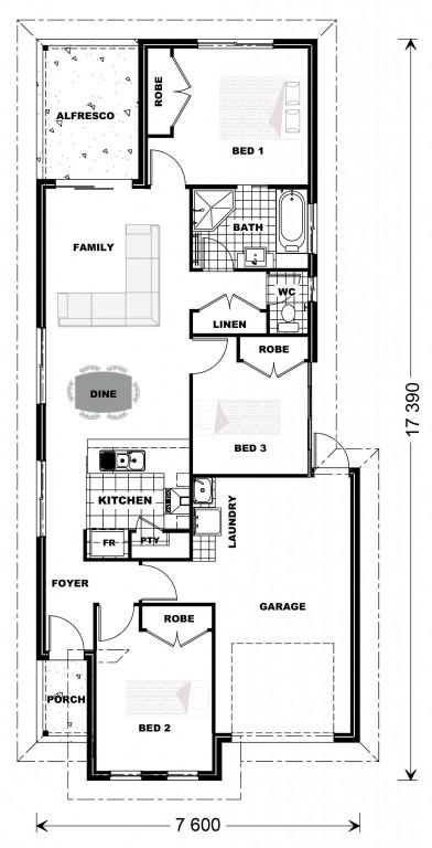 Robina 118 Floorplan