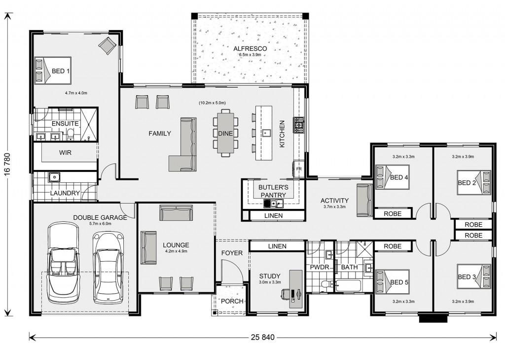 Calamvale 325 Floorplan