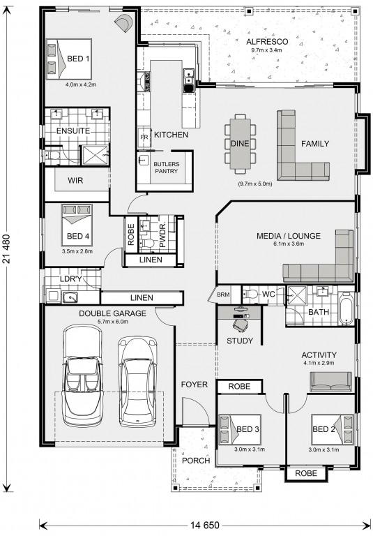 Seacrest 291 Floorplan
