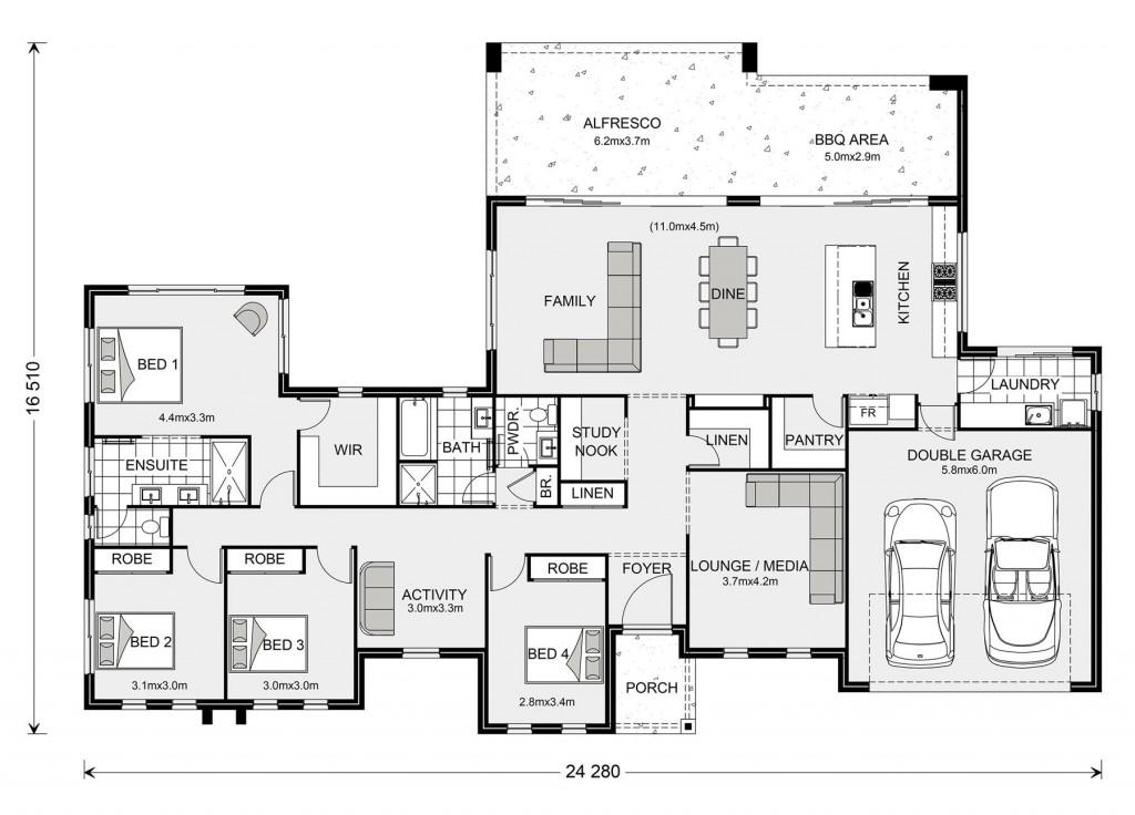 Stillwater 285 Floorplan