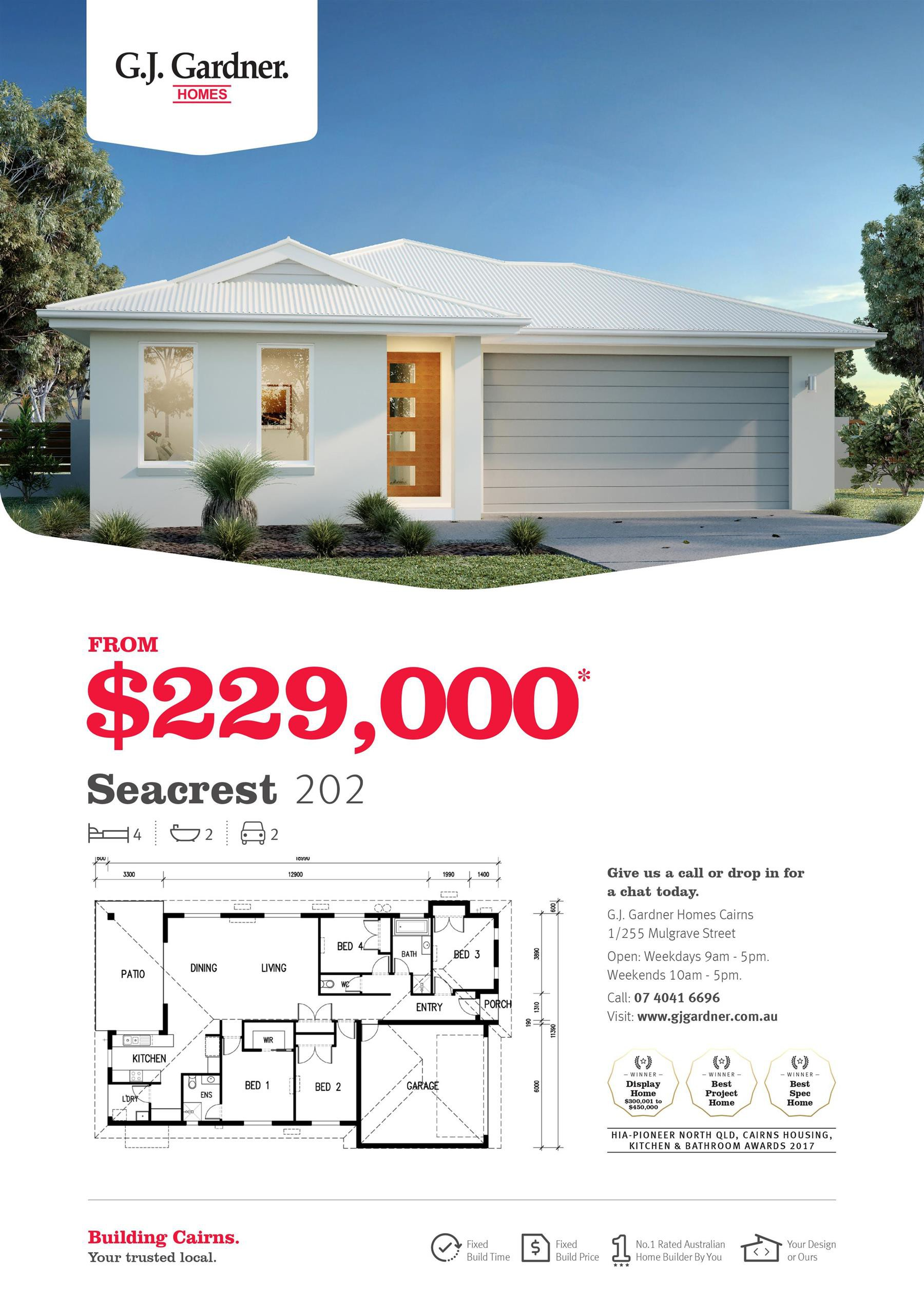 Seacrest 202 from $229,000