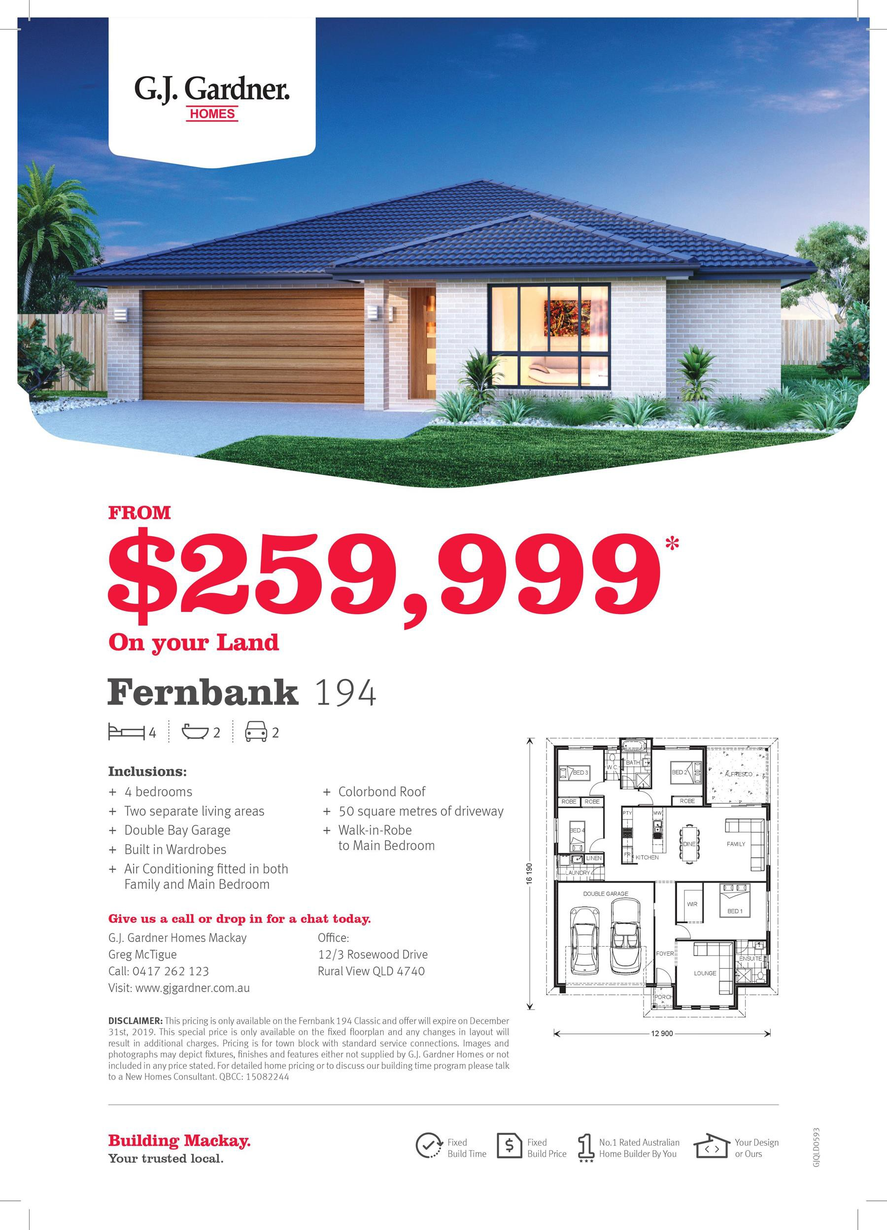 Large family home from $259,999*