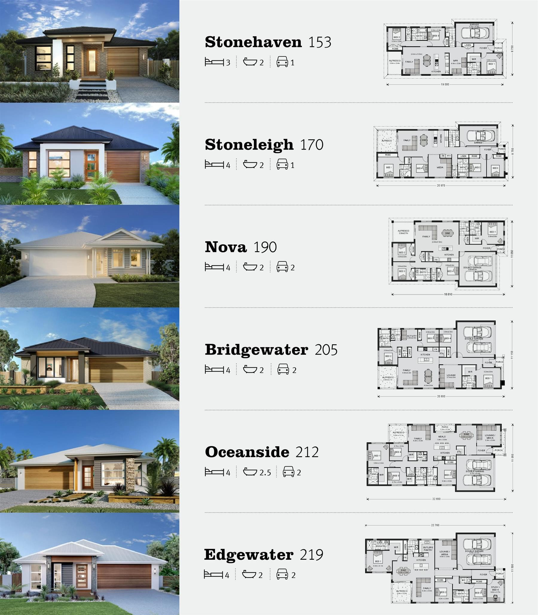 6 new homes from $185,000